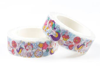 Unicorn washi tape