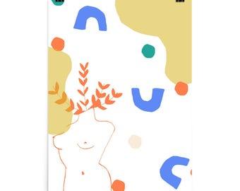 LADY PARTS//Art Print