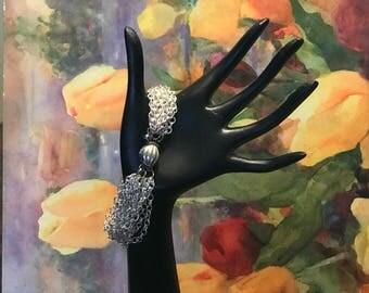 Silver Multi-Chain Bracelet