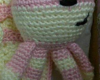 Crochet Floppy Bear Rattle