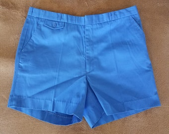 Vintage 1970's Sears The Men's Store, Classic Blue Men's Casual Shorts Sporty, Beach, Cruise, BBQ, Cosplay