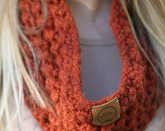 Infinity Scarf Rust