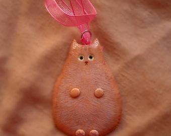 Custom Cat Ornament, Cat Ornament, Cat ornament Gift, Christmas Cat, Christmas Ornament, Cat Christmas Decor, Personalized Cat Decoration