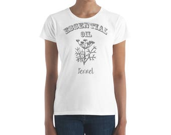Essential Oil Fennel Women's short sleeve t-shirt