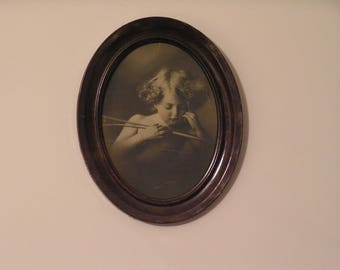 Cupid Asleep (1897) - Taber Prang Art Print of M.B. Parkinson original