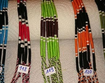 Woven bracelets Brazilian Bresiliensbracelets called friendship bracelets