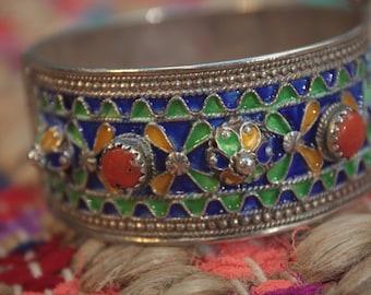 Traditional Tribal Berber (Amazigh) Bracelet Kabyle