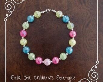 Bubblegum necklace, Cake Smash Necklace, Photo Shoot necklace, Accessories, Kid's Accessories, Children's Necklace, necklace