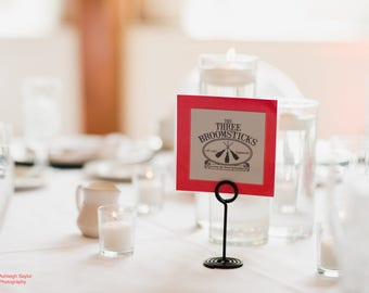 Harry Potter Wedding Table Names. Harry Potter Place Names for Seating.