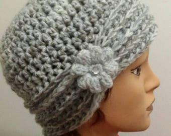 """Alexia"" Crochet cap"