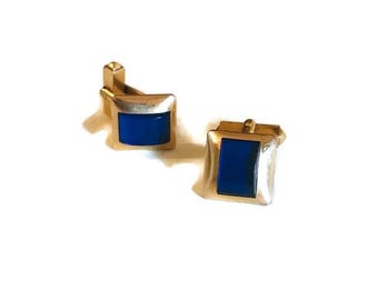 Vintage 10K Gold Plated Swank Cuff Links