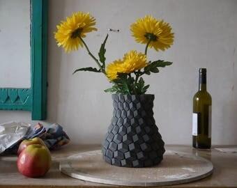 modern vase modern home vase decor 3d printed vase geometric modern