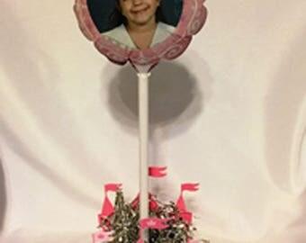 Princess Photo Balloon Centerpiece