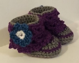 Lacey Girl's Baby Bootie