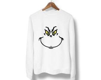 Grinchxmas sweater,Ugly Christmas sweatshirt,Ugly grinchxmas sweater,Funny Christmas party sweatshirt, Xmas gift,ugly Christmas Sweater M8