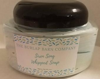 Siren Song Whipped Soap