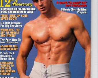 Exercise For Men Only  magazine- april 1997 - vol 13 -issue #2/ health and fitness