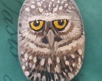 Burrowing Owl Stone
