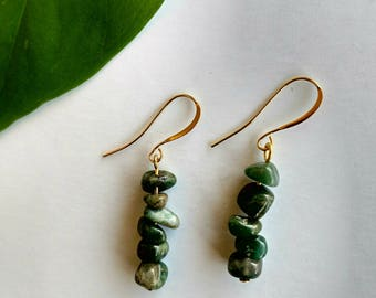Kalahali's Jade Bohemian Energy Earrings