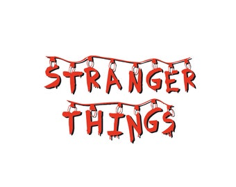 Stranger Things SVG stranger things T-shirt idea svg  Stranger cut Stranger things poster svg eps pdf png dxf cutting files commercial use