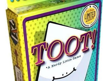 Autographed TooT! Card Game