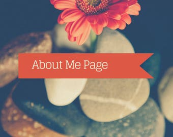 Writing Services: About Me Page Content Writing