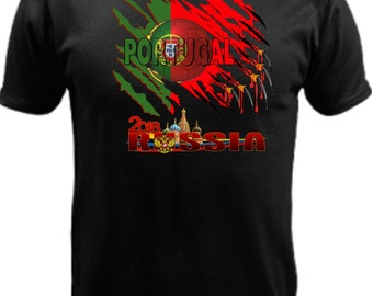 Portugal World Cup Russia 2018 w/flag