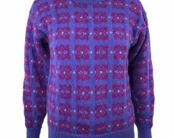 Vintage 1990's Windborne Wool Ski Sweater