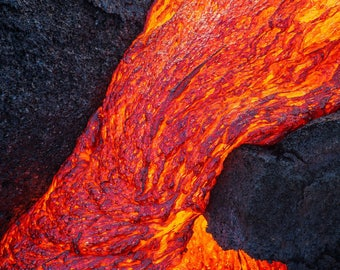 Falling Lava