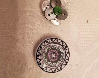 Pair of button Magnets