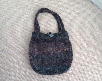 Beautiful handmade woolen bag