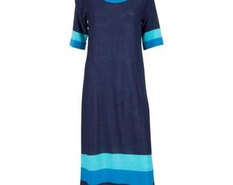 Pierre Cardin Blue Dress