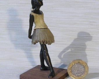 Bronze miniature dancer after Degas