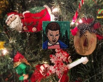 """Stranger Things """"Eleven"""" Ornament"""