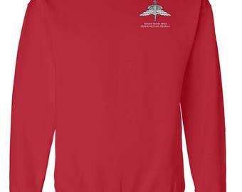 US Army Senior HALO Embroidered Sweatshirt-7815