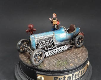 Model 1/35 of the runner Industria Mechanika