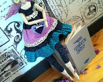 Tilda doll handmade Eva. Doll tilde. Textile doll. Cloth doll.Home Decoration.Handmade Doll,Doll.Tilda doll