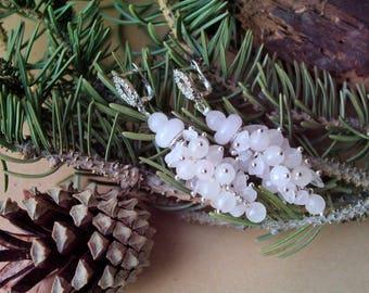 Rose quartz earrings,Gemstone Earring,Silver,Rose Quartz Gemstone,Jewlery,Earrings,Gift for Her,Sterling Silver Rose Quartz Earrings