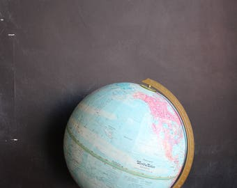 "World Nation Replogle 12"" Diameter Globe , Vintage"