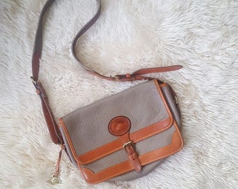 Dooney & Bourke Leather Handbag, Crossbody