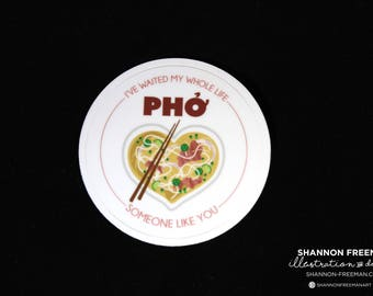 "2"" Pho Sticker (Weather Proof)"