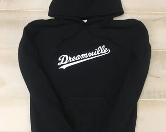 J Cole Dreamville Hoodie (White Logo)