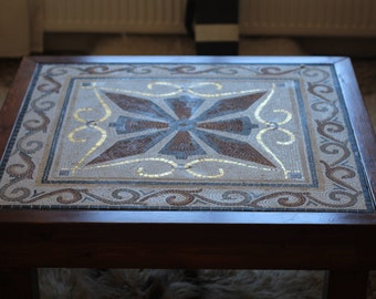 Mosaic with Golden Tiles
