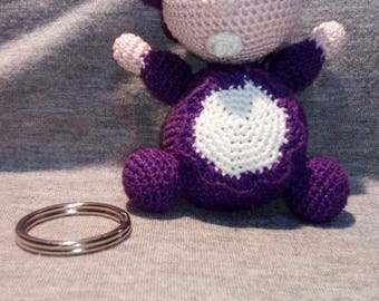 Key Ring Purple Dolly