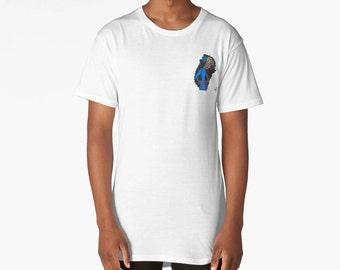 Flowered Shego Long T-Shirt