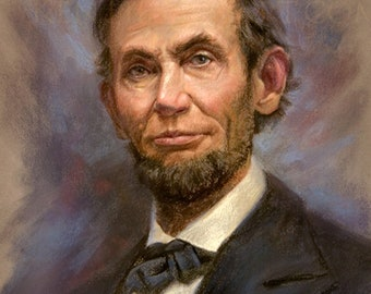 "Abraham Lincoln 1864- 12x16"""