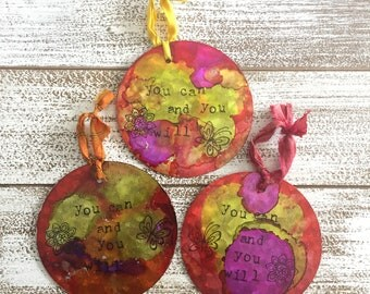 Positive Affirmation Ornament - You Can and You Will