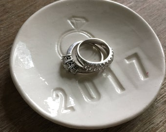 Engagement Ring Engagement Gift Engagemgent Gift For Couple Ring Dish Ring Holder