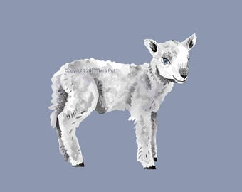 Sweet Lamb - Print