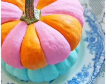 Pretty Little Pumpkins - 5 Postcard set